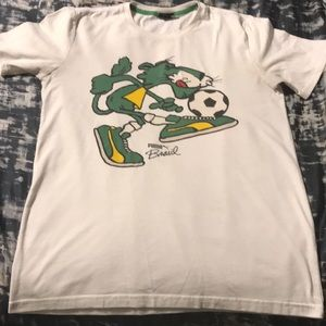 White/Green/Black Puma T-Shirt